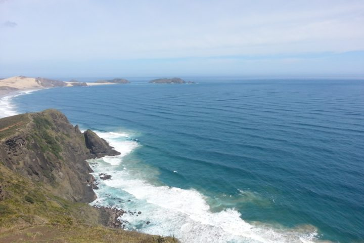 Cliffs at Cape Reinga