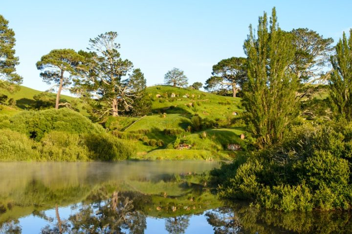 Little sea in Hobbiton