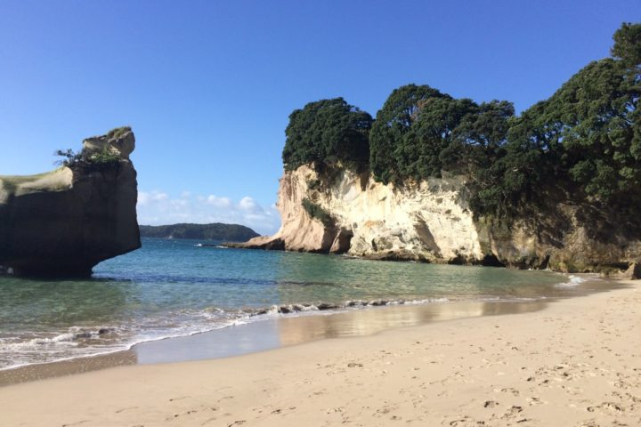 Beach at Cathedral Cove
